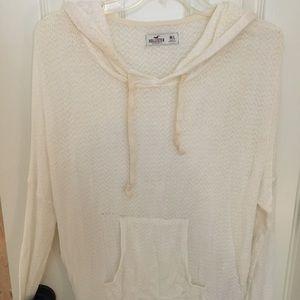 Hollister knit hoodie